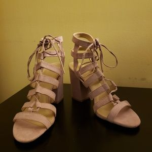 Charlotte Russe Lace-up Heel